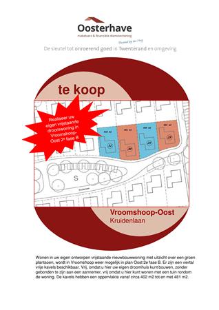 Brochure preview - VERKOOPBROCHURE 4 KAVELS VROOMSHOOP-OOST  -  Compatibiliteitsmodus.pdf