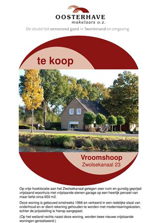 Brochure preview - VERKOOPBROCHURE ZWOLSEKANAAL 23.pdf