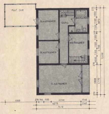Floorplan - Burg. Van Houtstraat 97, 6021 AS Budel
