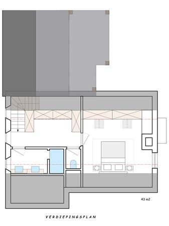 Floorplan - Willem de Zwijgerstraat 63, 6021 HL Budel