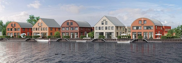 Te koop: Hanzesteden Watervilla met bedrijfsruimte, 8061 Hasselt