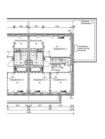Floorplan - Pijnboom, 5768 Meijel
