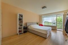 Slaapkamer 1 balkonzijde
