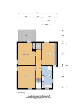 Floorplan - Alvenberg 21, 5508 AA Veldhoven