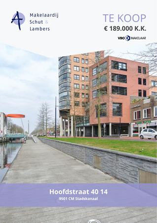 Brochure preview - Hoofdstraat 40-14, 9501 CM STADSKANAAL (1)