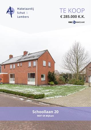 Brochure preview - Schoollaan 20, 9697 SR BLIJHAM (2)