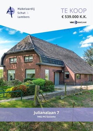 Brochure preview - Julianalaan 7, 9462 PG GASSELTE (2)