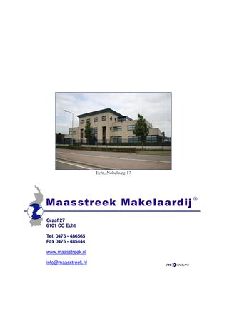 Brochure preview - website brochure echt, nobelweg 17
