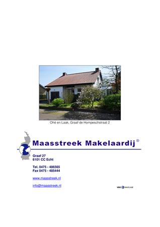 Brochure preview - brochure website nieuw, ohe en laak, graaf de hompeschstraat 2