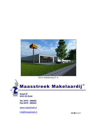 Brochure - website brochure echt, nobelweg 21 a - Nobelweg 21A, 6101 XB Echt