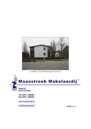 Brochure preview - website brochure susteren, oude rijksweg noord 8a