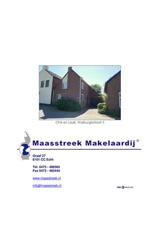 Brochure preview - website brochure ohe en laak, walburgisstraat 5