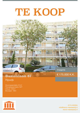 Brochure preview - Buziaulaan 87, 2284 JD RIJSWIJK (1)