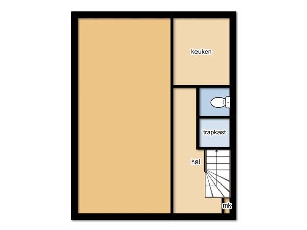 Floorplan - Gerberalaan 9, 2671 KA Naaldwijk