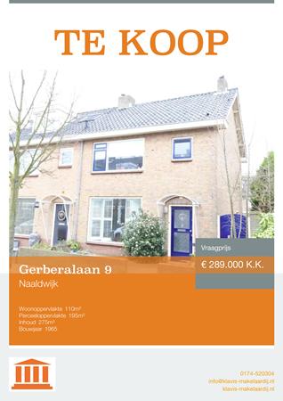 Brochure preview - Gerberalaan 9, 2671 KA NAALDWIJK (1)