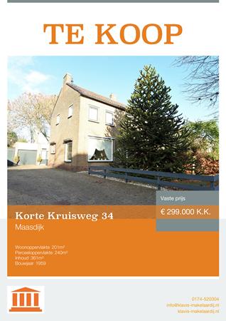 Brochure preview - Korte Kruisweg 34, 2676 XM MAASDIJK (1)