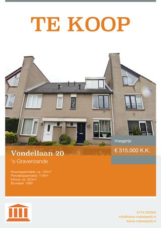 Brochure preview - Vondellaan 20, 2692 DK 'S-GRAVENZANDE (2)