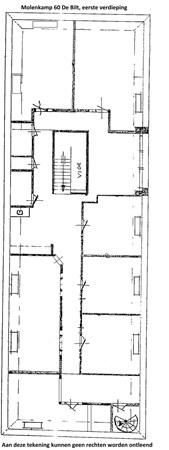 Floorplan - Molenkamp 60, 3732 EV De Bilt