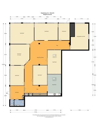 Floorplan - Kapelweg 10, 3566 MK Utrecht