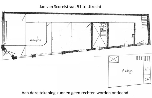 Floorplan - Jan van Scorelstraat 51, 3583 CK Utrecht