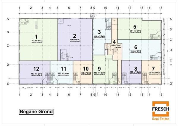 Floorplan - Archimedesbaan 12-14, 3439 ME Nieuwegein