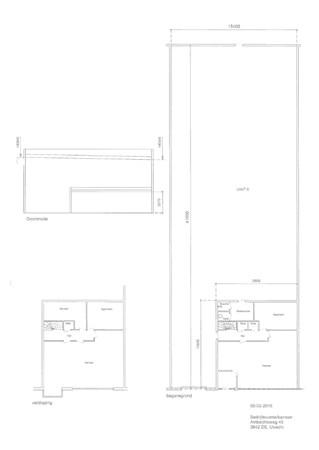 Floorplan - Ambachtsweg 45, 3542 DE Utrecht