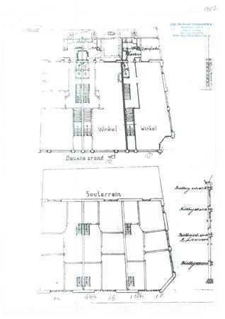 Floorplan - Nobelstraat 16, 3512 EN Utrecht
