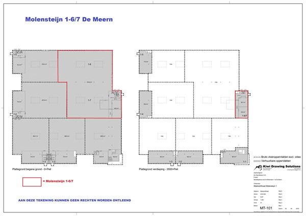 Floorplan - Molensteijn 1-6, 3454 PT De Meern