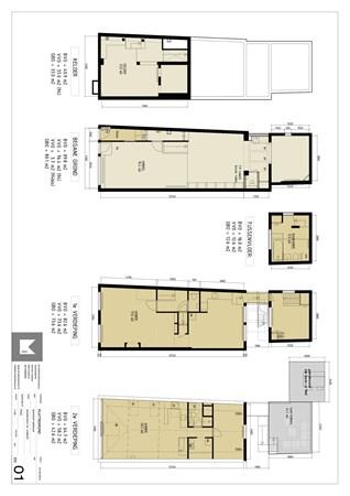 Floorplan - Voorstraat 94-94BIS, 3512 AV Utrecht