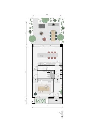 Floorplan - Woon-werkwoning Bouwnummer 119, 3527 KW Utrecht