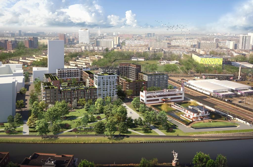 - Onder optie: Appartement XXL, De Nieuwe Defensie, Blok 1B