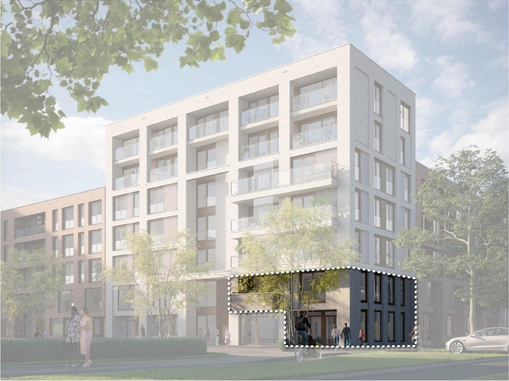 - Onder optie: Woon-werkwoning, De Nieuwe Defensie, Blok 1B