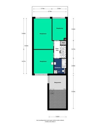 Floorplan - Esther De Boer-Van Rijklaan 23, 3584 GL Utrecht