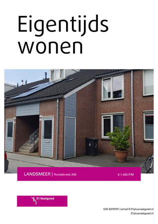 Brochure preview - Rondebreek 206, 1121 KX LANDSMEER (1)