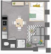 New for rent: Kloosterraderstraat 27D, 6461 CA Kerkrade