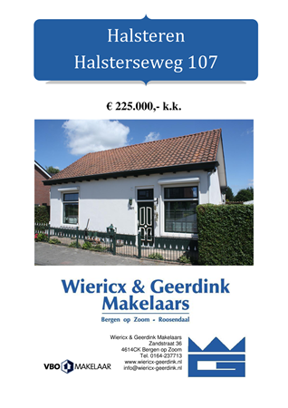 Brochure preview - dd halsterseweg 107 halsteren