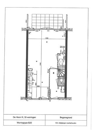 Floorplan - Ballastwater 3, 3991 HL Houten