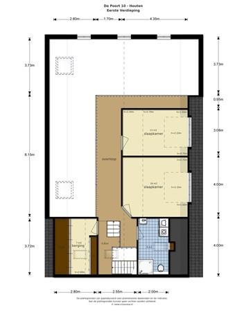 Floorplan - De Poort 10A, 3991 DV Houten