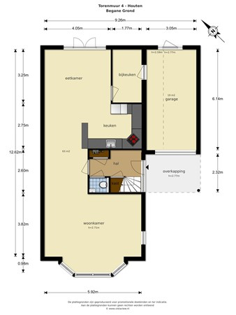 Floorplan - Torenmuur 4, 3991 SW Houten