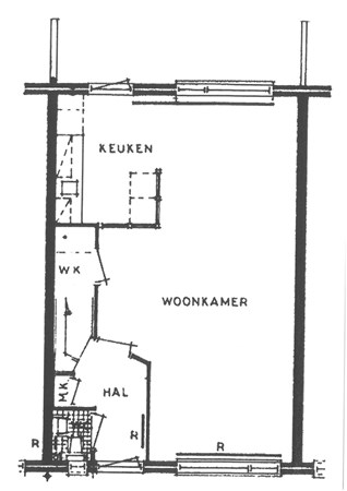 Floorplan - Biesterlaan 20, 3998 KK Schalkwijk
