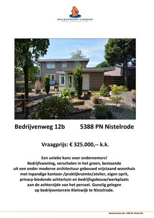 Brochure preview - brochure bedrijvenweg 12 b, 5388 pn nistelrode