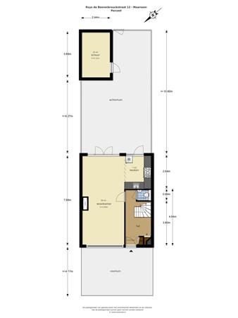 Floorplan - Ruys de Beerenbrouckstraat 12, 3601 CB Maarssen