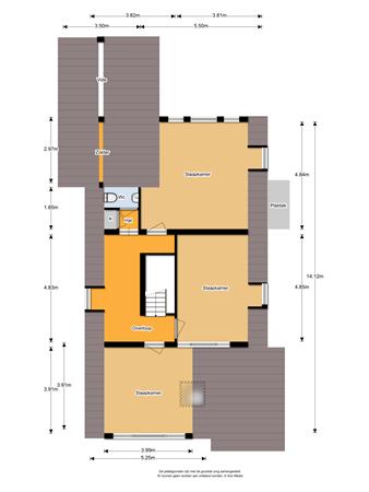 Floorplan - Binnenweg 58, 3603 AG Maarssen