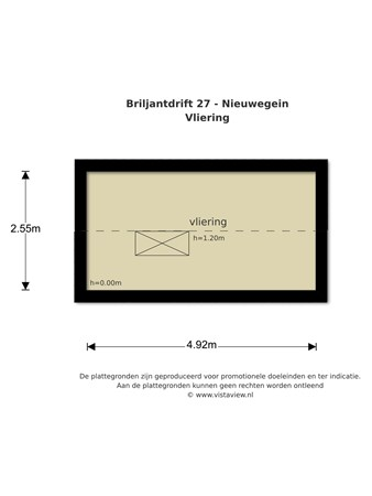 Floorplan - Briljantdrift 27, 3436 BB Nieuwegein