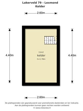 Floorplan - Lakerveld 79& 79a, 4128 LE Lexmond
