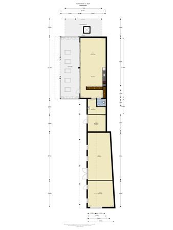 Floorplan - Achterstraat 5, 4115 RP Asch