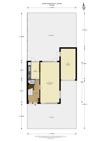 Floorplan - Dokter Oolderslaan 5, 3451 EE Vleuten