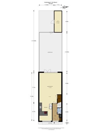 Floorplan - Corbulopad 2, 3453 HG De Meern