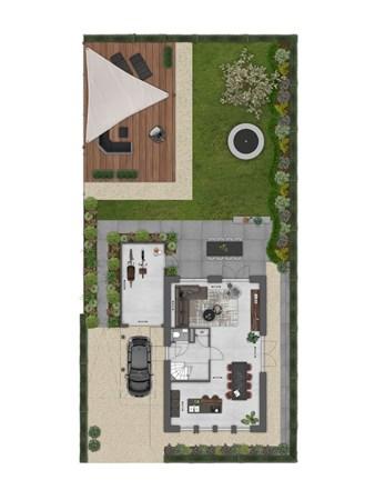 Floorplan - Bouwnummer 001 Bouwnummer 001, 4125 Hoef En Haag