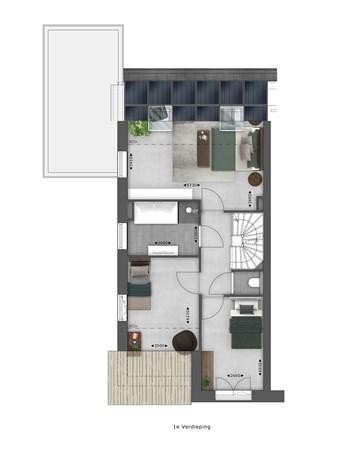 Floorplan - Bouwnummer 002 Bouwnummer 002, 4125 Hoef En Haag